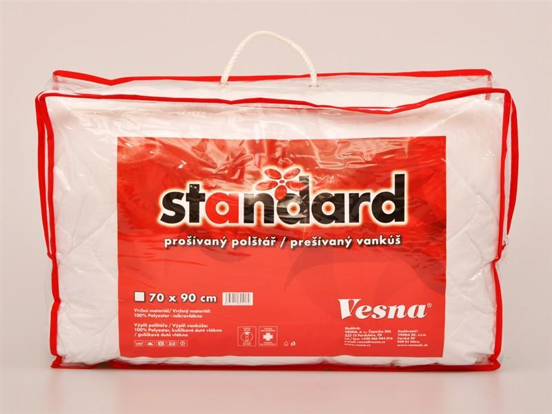Polštář Standard z dutého vlákna_01