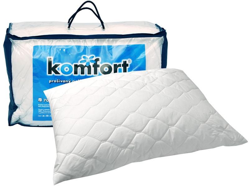 Polštář Komfort z dutého vlákna se zipem č.1