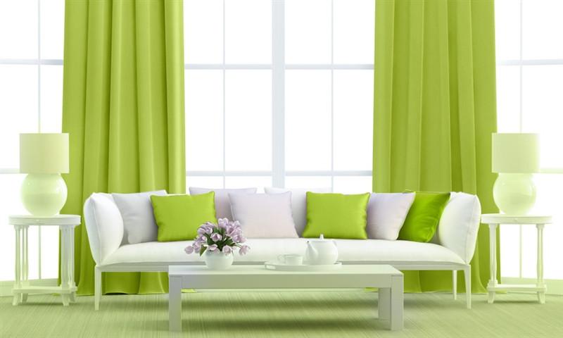 Vesna Zatemňovací tkanina 150 cm, black out, zelená č.1