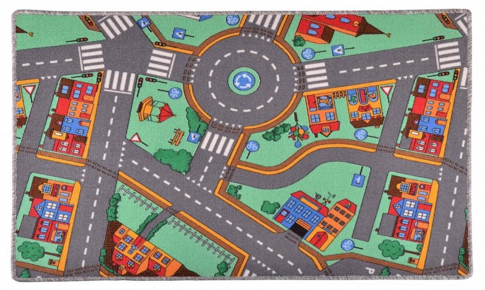 Dětský koberec silnice CITY 80x120 cm č.1